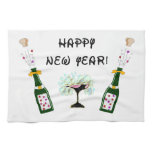 Happy New Year Hand Towel