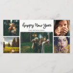 """Happy New Year Handwritten Five Photo Holiday<br><div class=""""desc"""">Happy New Year Handwritten Five Photo Holiday</div>"""