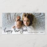 "Happy New Year Handwritten Holiday Photo<br><div class=""desc"">Happy New Year Handwritten Holiday Photo</div>"