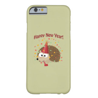 Happy New Year Hedgehog! Barely There iPhone 6 Case