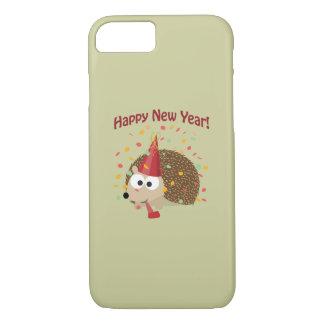 Happy New Year Hedgehog! iPhone 7 Case