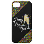 Happy New Year I Champagne Glasses iPhone 5 Case