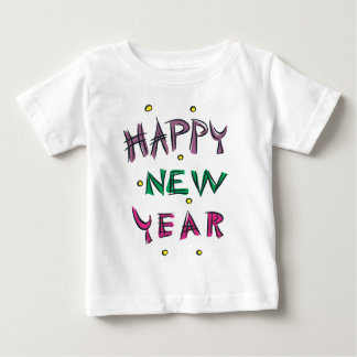 Happy New Year in Candy Colors T-shirt