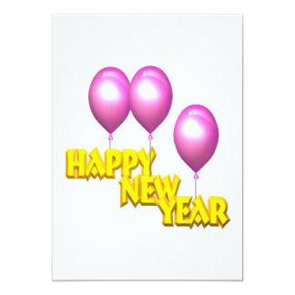 Happy New Year Custom Invites