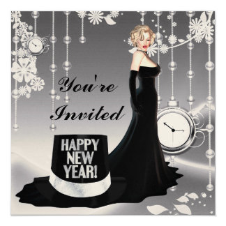 Happy New Year Invitation