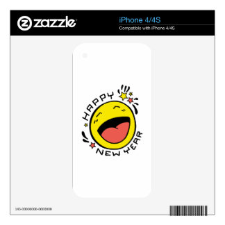 Happy New Year iPhone 4S Skin