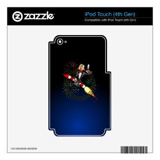 Happy New Year iPod Touch 4G Skins