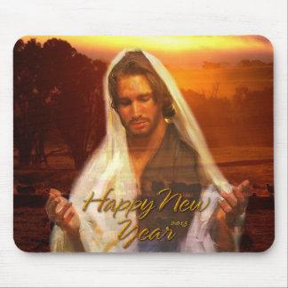 Happy New Year Jesus Mousepad