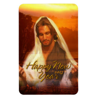 Happy New Year Jesus Premium Magnet