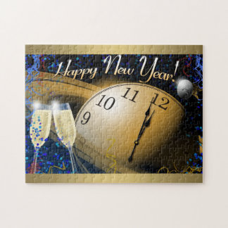 Happy New Year Jigsaw Puzzle