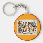 Happy New Year! - Keychain