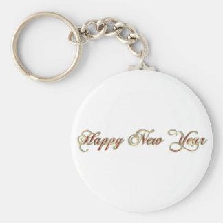 happy new year keychain