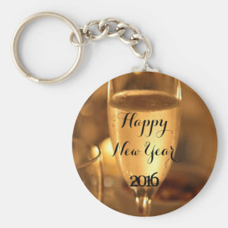 Happy New Year Keychain by RoseWrites
