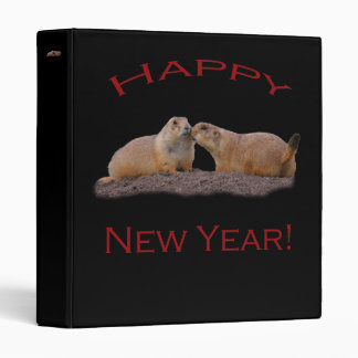 Happy New Year Kiss Binders