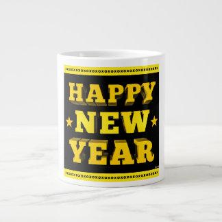 Happy New Year Large Coffee Mug