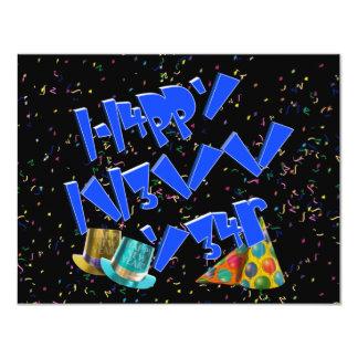 HAPPY NEW YEAR LEET CUSTOM INVITATION