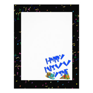 HAPPY NEW YEAR LEET CUSTOM LETTERHEAD
