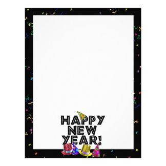 HAPPY NEW YEAR! LETTERHEAD TEMPLATE