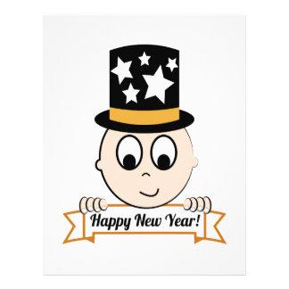 Happy New Year! Letterhead