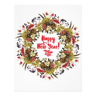 Happy New Year Letterhead