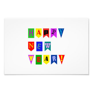 Happy New Year letters Art Photo