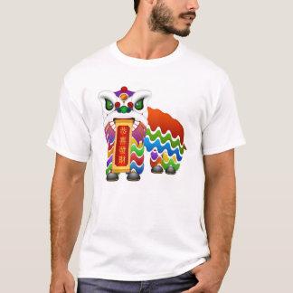 Happy New Year Lion Dance T-Shirt