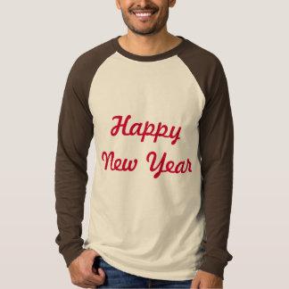 happy new year logo t-shirt design