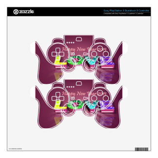 Happy New Year & love PS3 Controller Skins