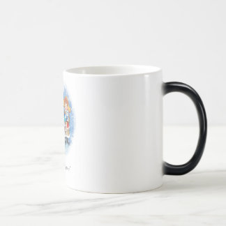 Happy new year! magic mug