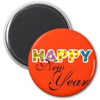 Happy New Year Magnet