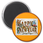 Happy New Year! - Magnet #2