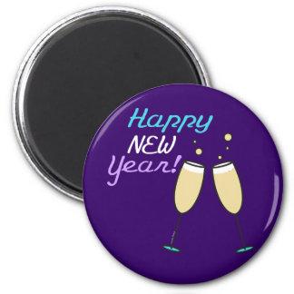 Happy New Year Merchandise 2 Inch Round Magnet