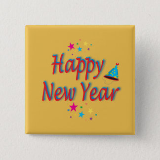 Happy New Year Message Button