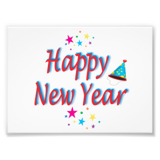 Happy New Year Message Photograph