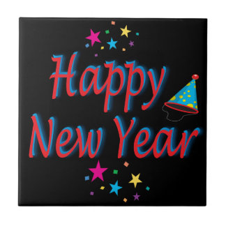 Happy New Year Message Tile