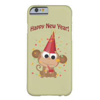 Happy New Year Monkey Barely There iPhone 6 Case