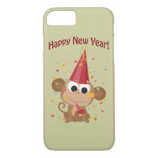Happy New Year Monkey iPhone 8/7 Case