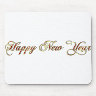 happy new year mouse mats