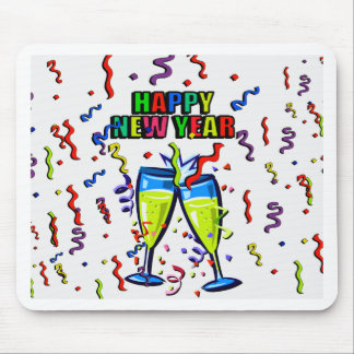 Happy New Year Mouse Pad