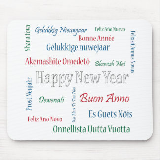 ** Happy New Year ** Mouse Pad