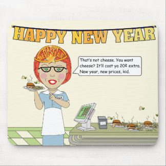 Happy New Year Mouse Pads