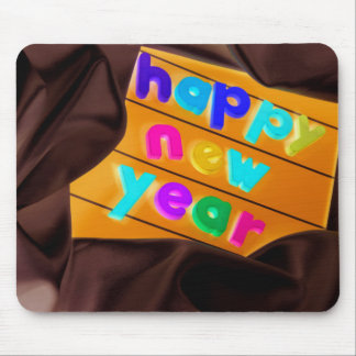 Happy New Year! Mousepad