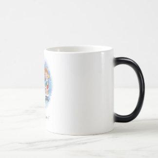 Happy new year! 11 oz magic heat Color-Changing coffee mug