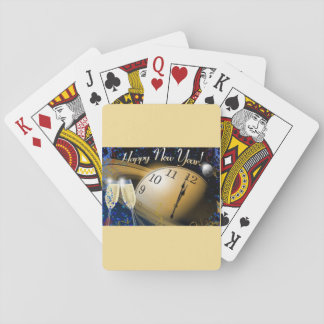 Happy New Year NASA Theme Playing Cards