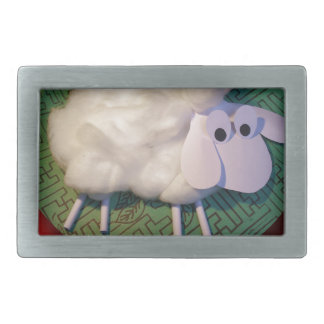 Happy New Year of the Sheep 2015 #1 Rectangular Belt Buckle