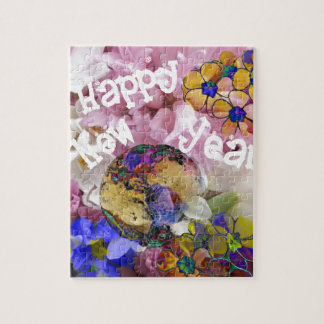 Happy New year on Earth. Jigsaw Puzzle
