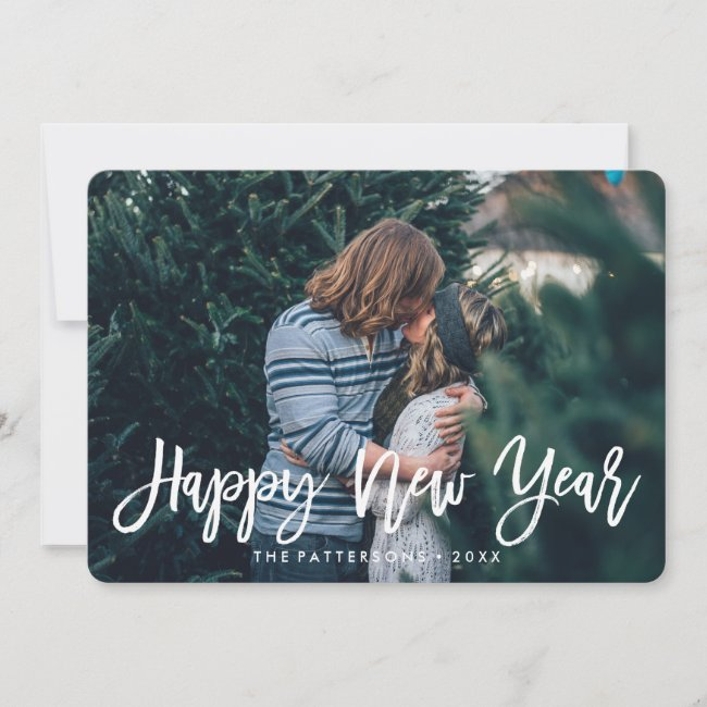 Happy New Year Overlay | Holiday Photo Card