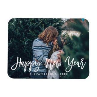 Happy New Year Overlay | Holiday Photo Magnet
