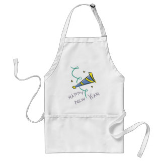 Happy New Year Party Hat Aprons