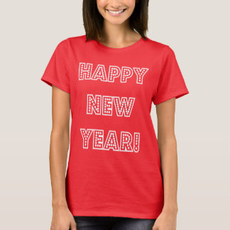 Happy New Year!  Party T-shirt